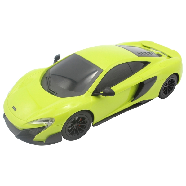 1:18 McLaren 675LT Coupe Green Remote Control Toy Car