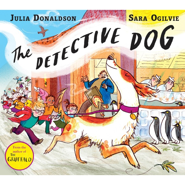 The Detective Dog PB Book By Julia Donaldson