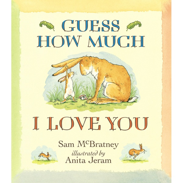 Guess How Much I Love You PB Book by Sam McBratney