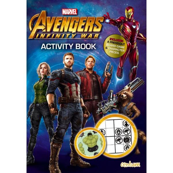 Marvel Avengers Infinity War Activity Book Colour