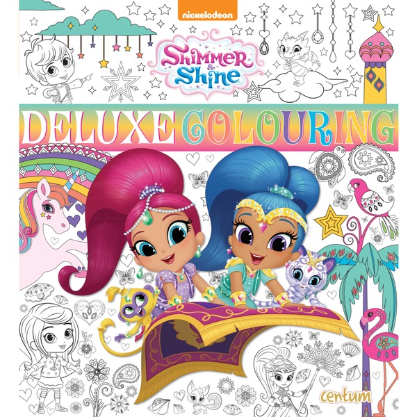 Shimmer & Shine Deluxe PB PB Colouring Book