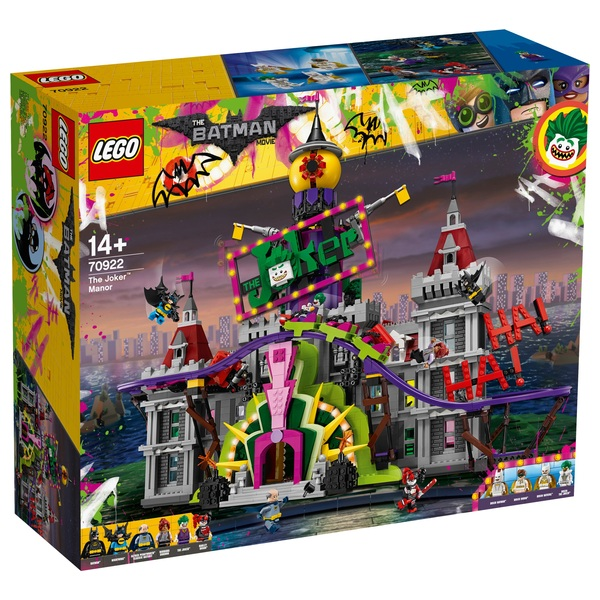 LEGO 70922 The Batman Movie The Joker Manor