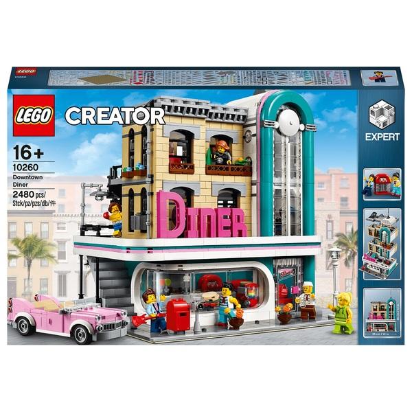 LEGO 10260 Creator Expert Downtown Diner Modular Model