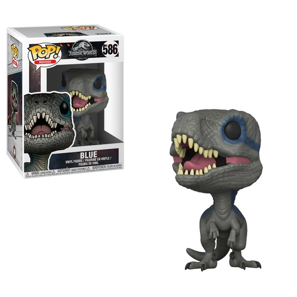 POP! Vinyl: Jurassic World Blue Velociraptor