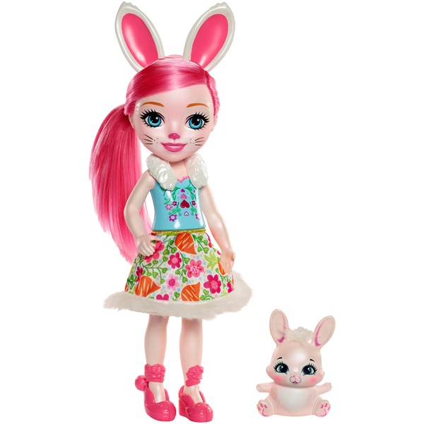 Enchantimals Bree Bunny 30cm Doll with Twist Bunny Figure