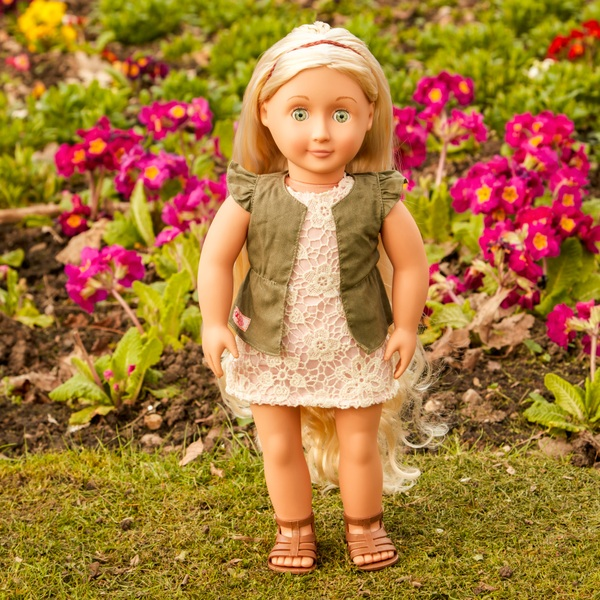 Our Generation - Hairgrow Doll, Blonde - Pia