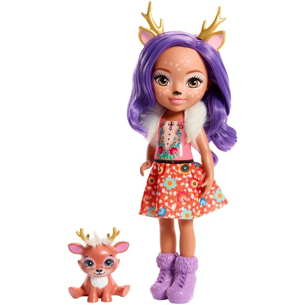 Enchantimals Danessa Deer 30cm Doll with Sprint Deer Figure