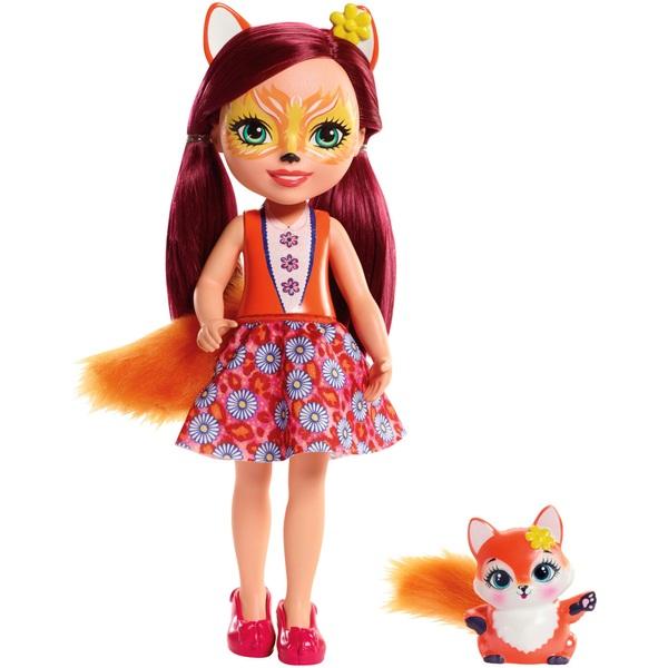 Enchantimals Felicity Fox 30cm Doll with Fox Figure