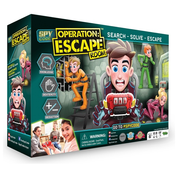 Spy Code - Operation: Escape Room