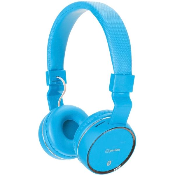 av.link - Wireless Bluetooth Kopfhörer, blau