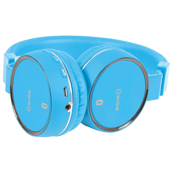 av link bluetooth headphones blue music headphones uk. Black Bedroom Furniture Sets. Home Design Ideas