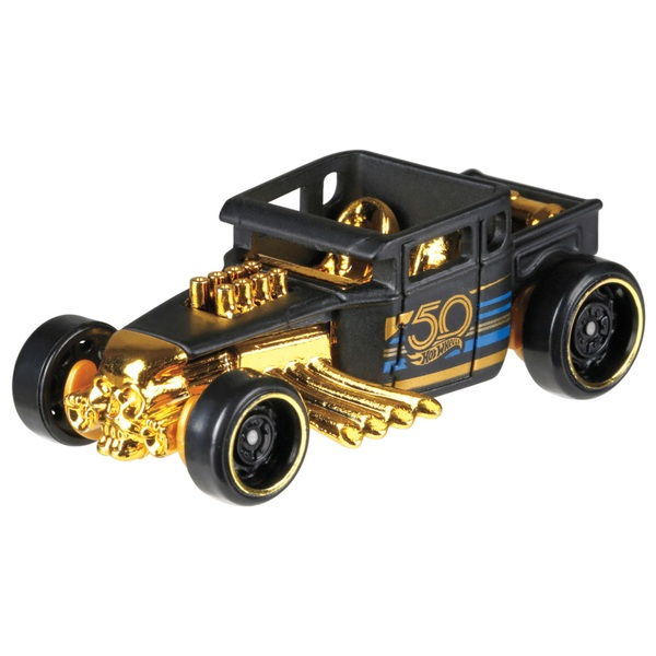 Hot Wheels 50th Anniversary Black & Gold Assortment