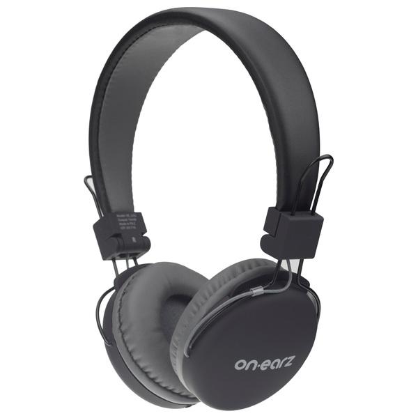 On Earz Lounge Headphones with Detachable Cable Black