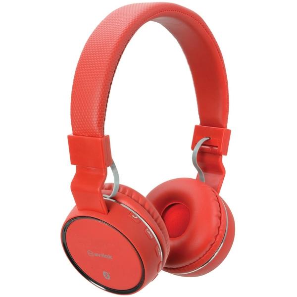 Av Link Bluetooth Headphones Red
