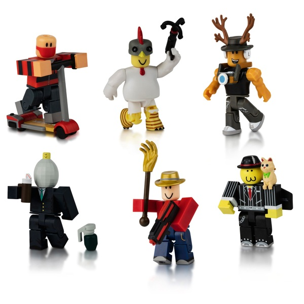 Roblox Masters Of Roblox 6 Figure Pack Series 3