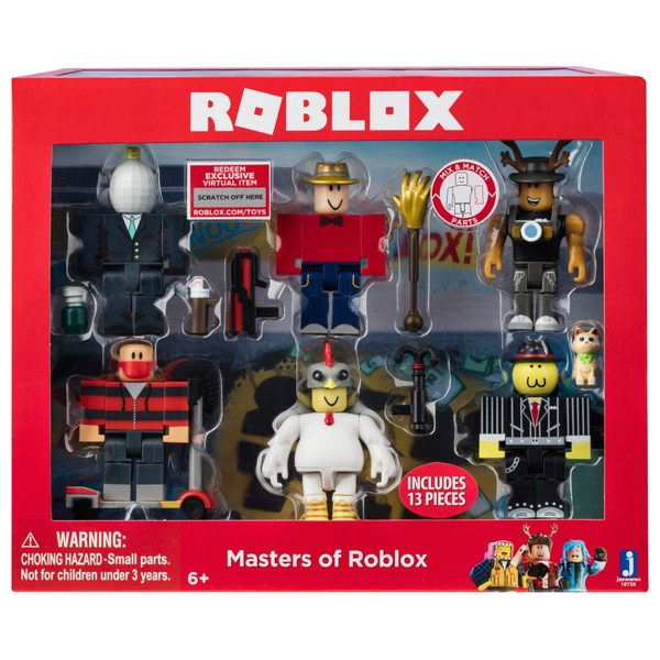 ROBLOX - Masters of Roblox 6 Figure Pack - Series 3 ...