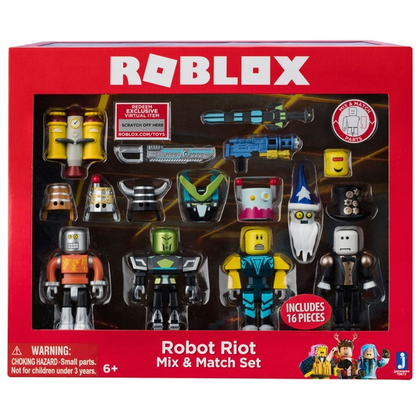 ROBLOX- Robot Riot Mix N Match - Series 3 - Roblox UK