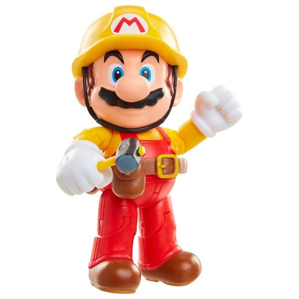 Mario Maker Mario 10cm Action Figure with Utility Belt