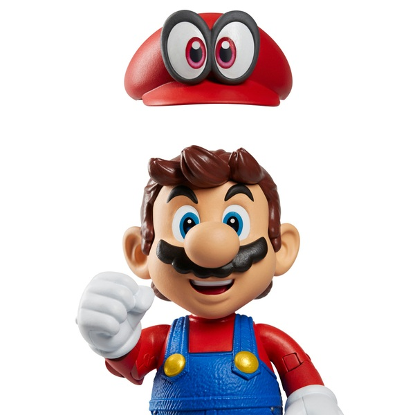 Nintendo Mario Odyssey with Hat 10cm Action Figure