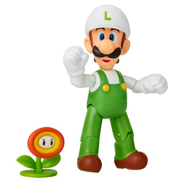 World of Nintendo - Fire Luigi with Fire Flower