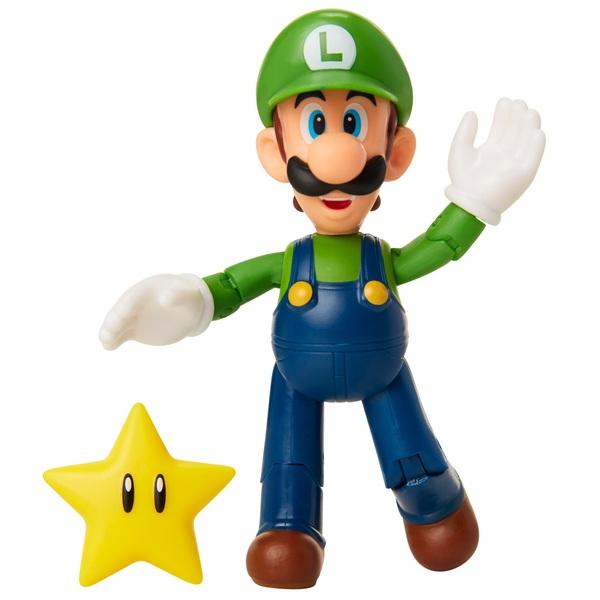 Nintendo Luigi with Star 10cm Action Figure