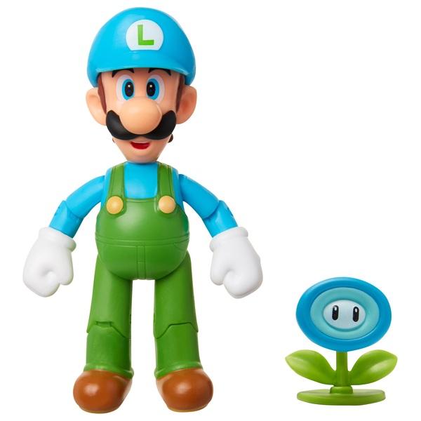 Nintendo Ice Luigi with Ice Flower 10cm Action Figure