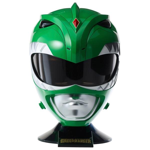 Power Ranger Legacy Green Ranger Helmet