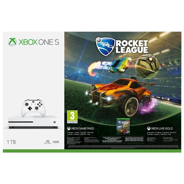 Xbox One S 1TB Rocket League Bundle