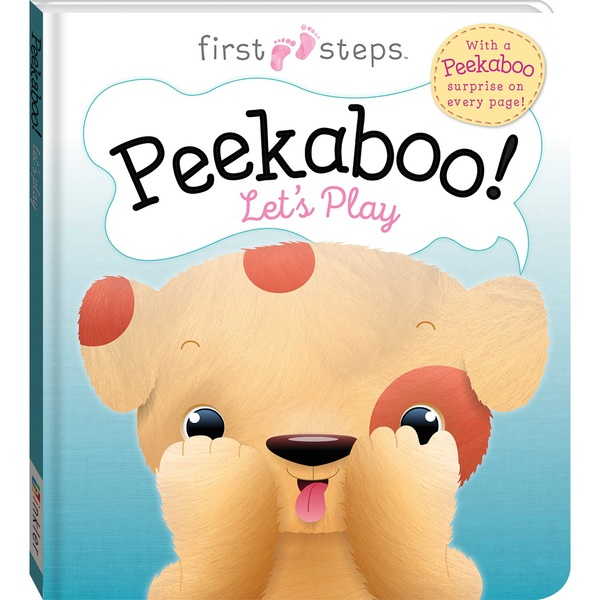 First Steps: Peekaboo! Let's Play Puppy Picture Book