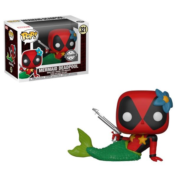 POP! Bobble: Marvel: Deadpool Playtime: Deadpool Mermaid