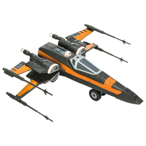 Star Wars Remote Control Poe's X-Wing Fighter U-Command