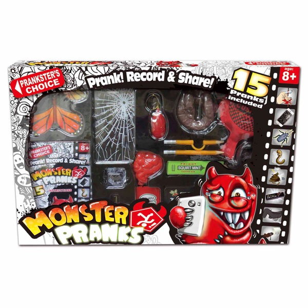 Monster Pranks Practical Jokes Set