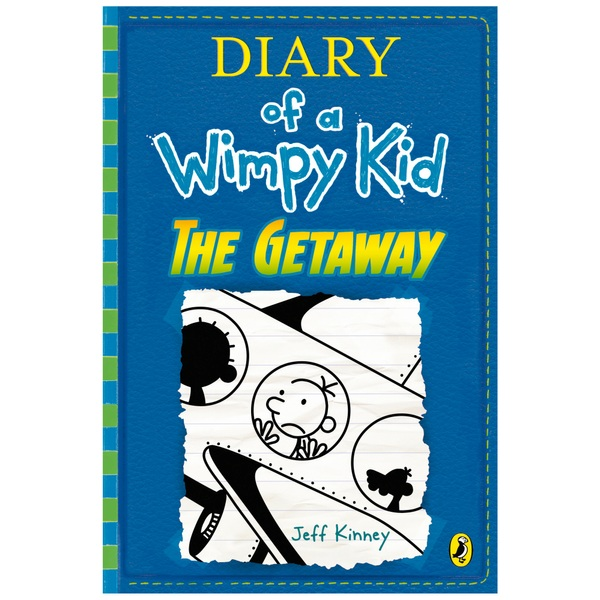 Diary of a Wimpy Kid The Getaway HB Book by Jeff Kinney