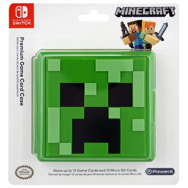 Nintendo Switch Premium Game Card Case – Minecraft Creeper