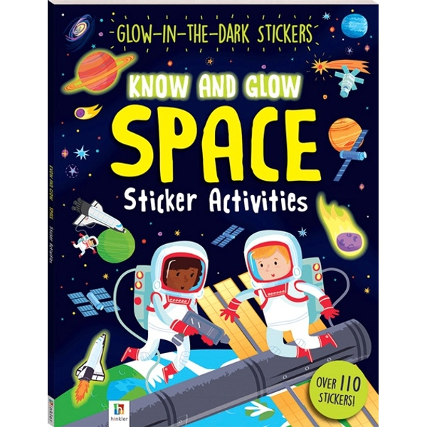 Know and Glow Space Sticker Activities