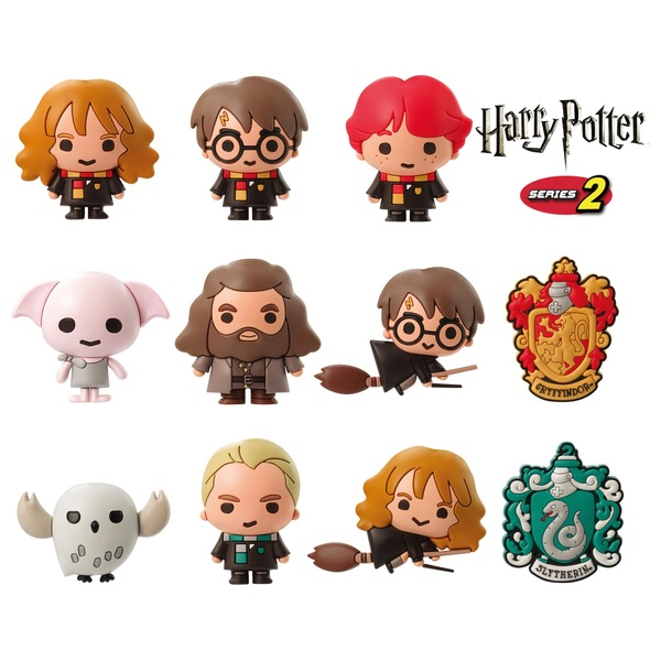 Harry Potter Series 2 3D Collectible Keychain