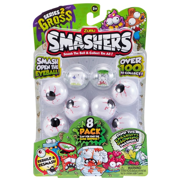 Smashers Gross 8 Pack Series 2
