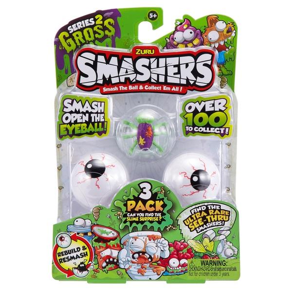 Smashers Gross Triple Pack Season 2