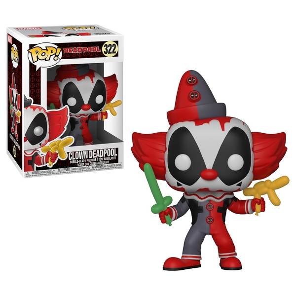 POP! Vinyl: Deadpool Clown