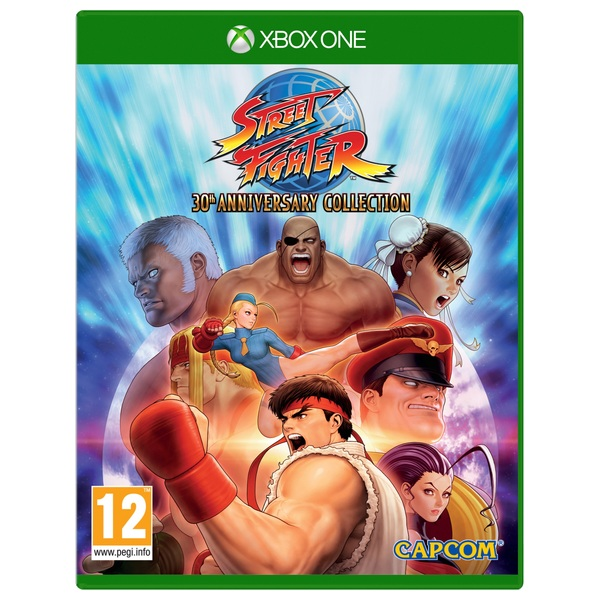 Street Fighter Anniversary Collection Xbox One