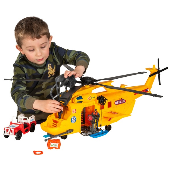 Rescue Helicopter Playset