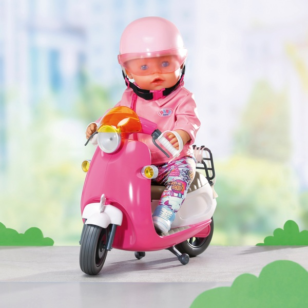 BABY born City Remote Control Scooter - Smyths Toys Ireland