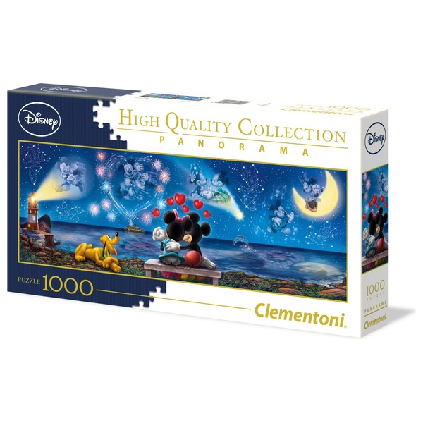 Clementoni Panorama 1000 Piece Disney Mickey Mouse Puzzle