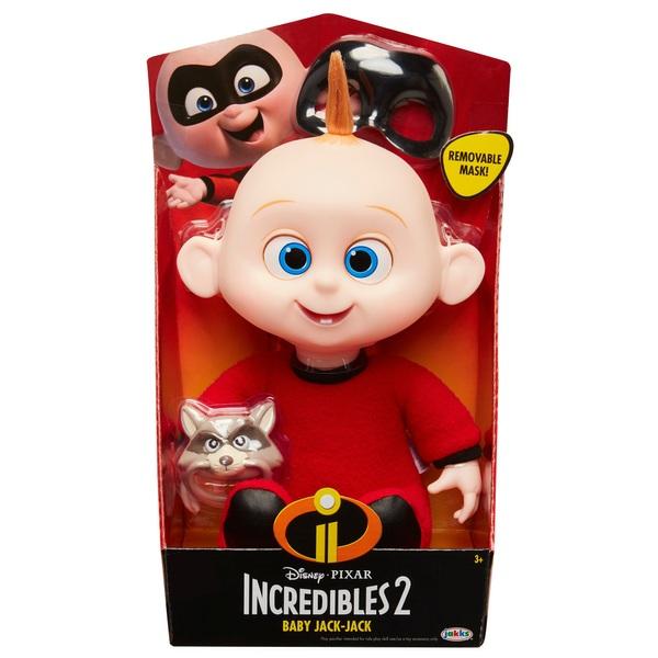 Disney Pixar Incredibles 2 Soft Body 30cm Baby Jack-Jack ...