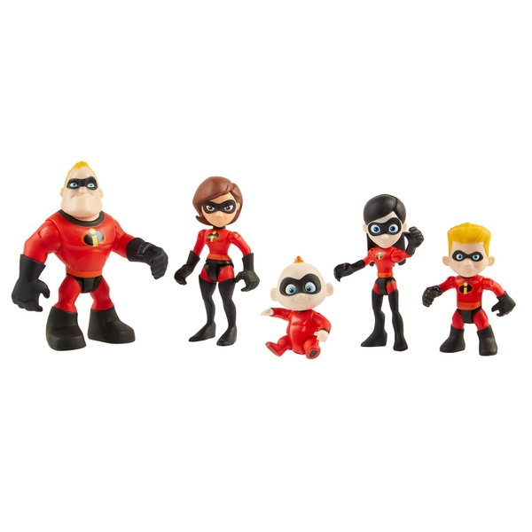 Disney Pixar Incredibles 2 Junior Supers Family Pack