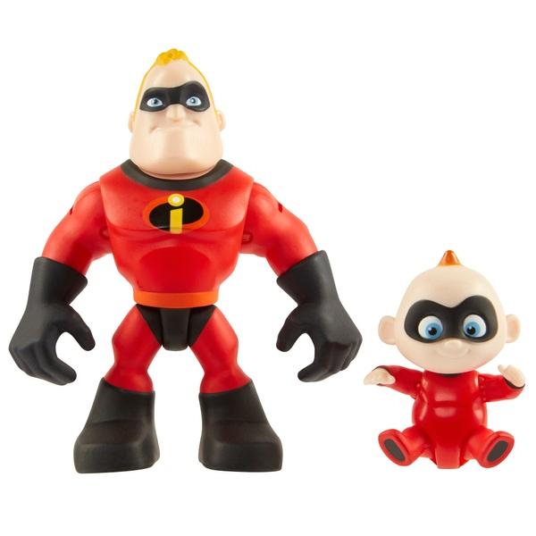 Disney Pixar Incredibles 2 Super Juniors Mr. Incredible and Jack-Jack 2 Pack