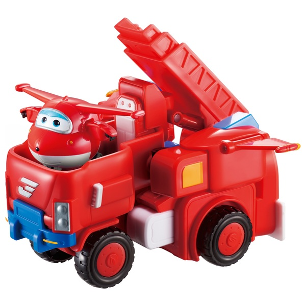Super Wings Deluxe Transform Vehicle Jett