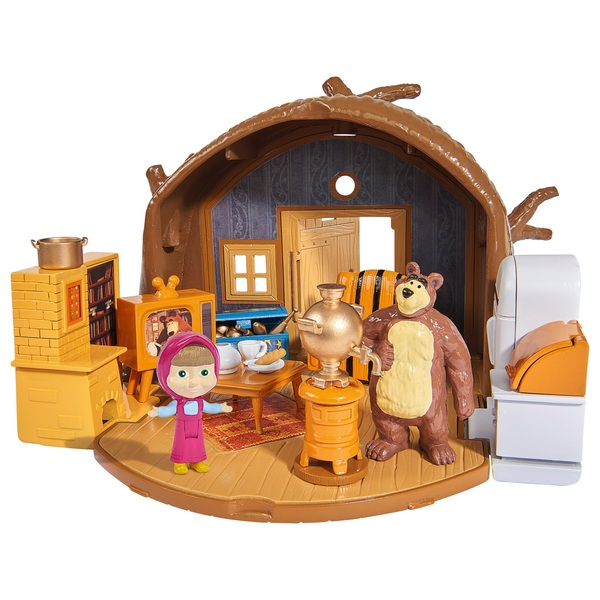 Masha and The Bear: Bear Tree House Playset