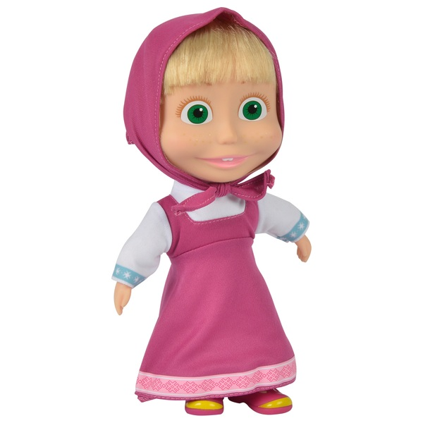 Masha and The Bear 23cm Masha Soft Body Doll