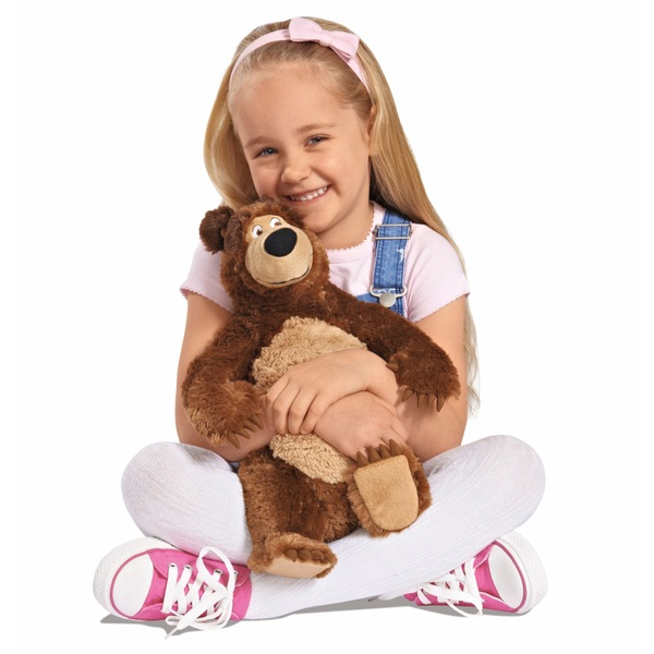 Masha and The Bear  43cm Standing Plush Bear
